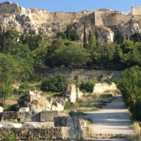 Post-Herulian Walls, Athens