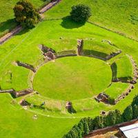 Amphitheatre Caerleon, Wales