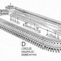 Circus Maximus Drawing