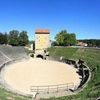 Amphitheatre in Avenches, Switzerland