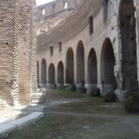 Subterranean Passageway in Colosseum