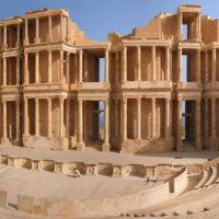Theatre in Sabratha Libya