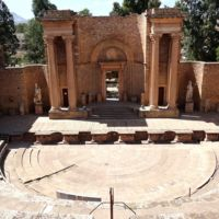 Theatre at Guelma in Algeria