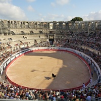 Amphitheatre in Arles, France