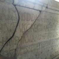 Colosseum Restoration Inscription Detail