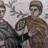 """Great Hunt"" Mosaic Depiction of Owners of Villa"
