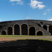 Amphitheatre at Pompeii