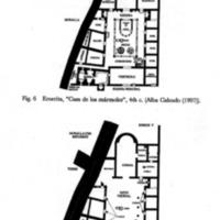 "Plan of ""Casa de los Marmoles"" Domus, Emerita, Hispania (4th; 5th-6th centuries CE)"