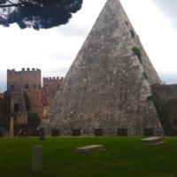 Porta San Paolo (Porta Ostiense, Ostian Gate), Rome.