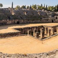 Amphitheatre in Italica, Spain