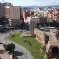 Tarragona Circus Ruins in Spain