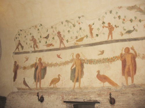 Dance of the Four Seasons Mosaic, Ss. Giovanni e Paolo, Caelian Hill, Rome
